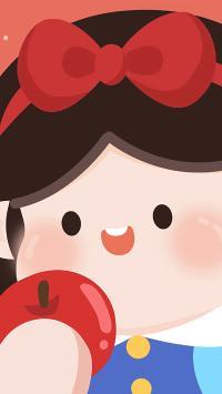 白雪公主 肉肉酱 迪士尼 苹果