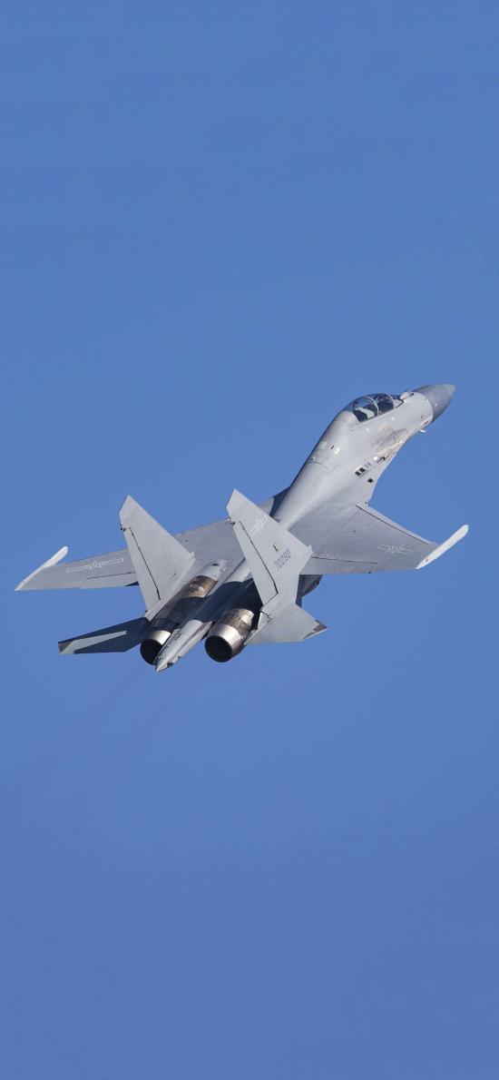 飞机 飞行 航空 战斗机 蓝色 空军