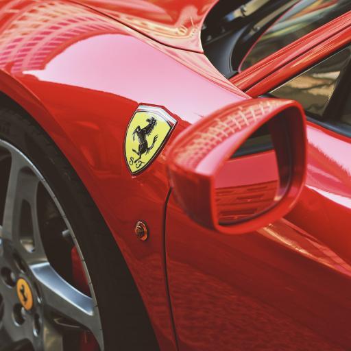 法拉利 超级跑车 炫酷 红色 logo 车标