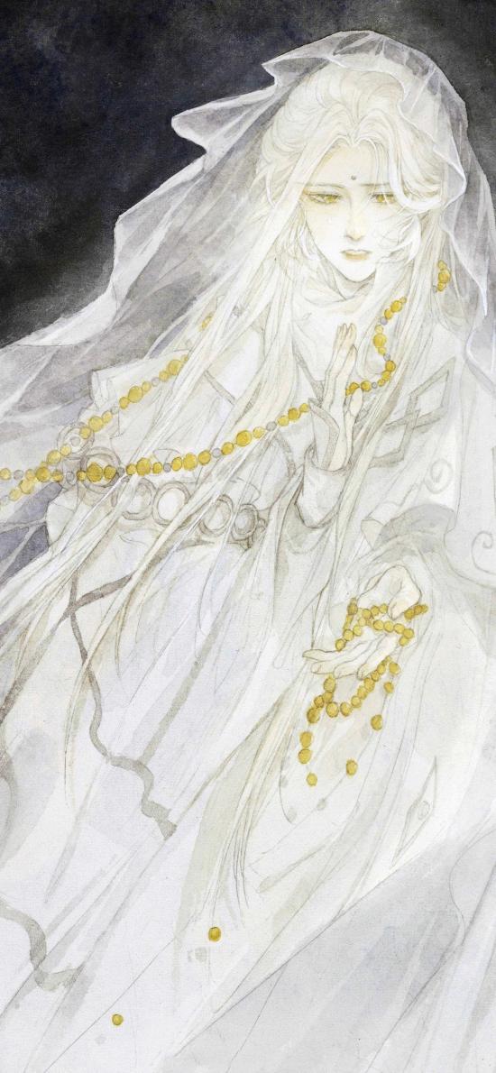 金光布袋戏 古风 绘画 佛珠