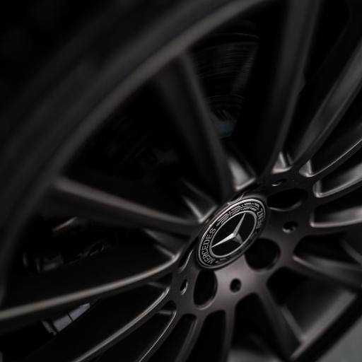 奔驰 车胎 轮胎 黑色 logo 车标