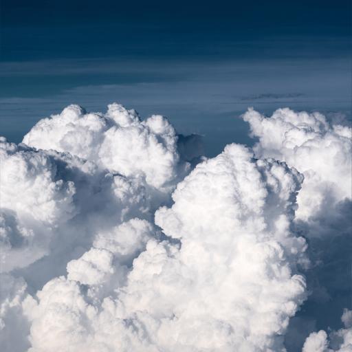 天空 云朵 云层 高空