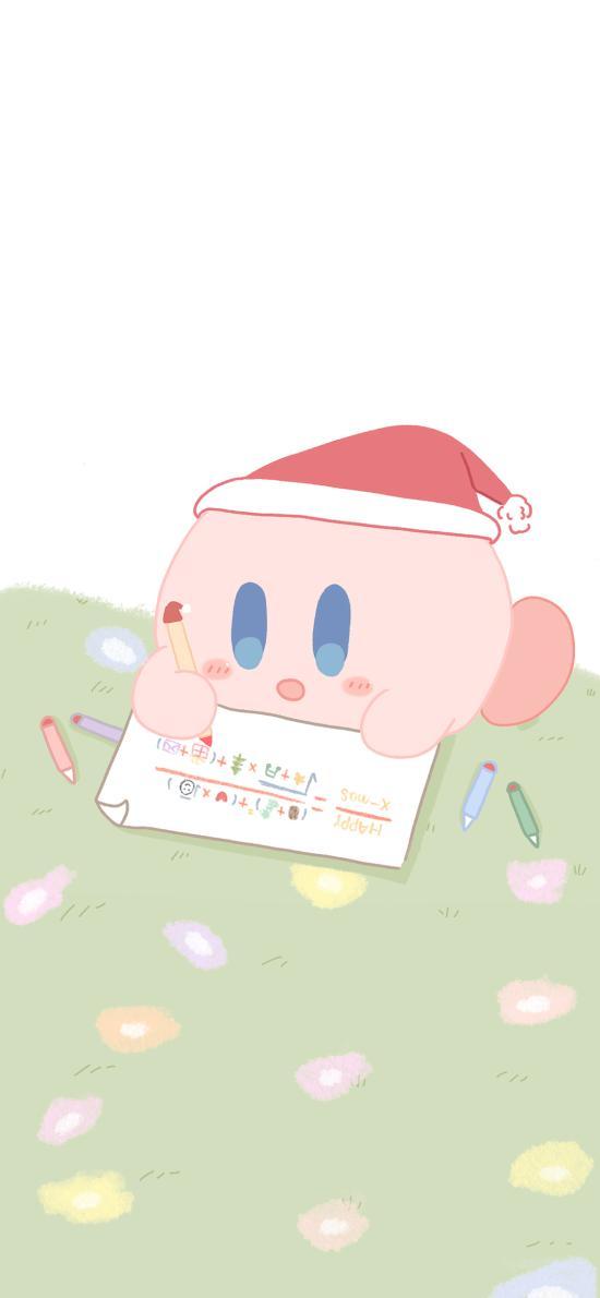 精灵宝可梦 星之卡比 圣诞帽 圣诞节