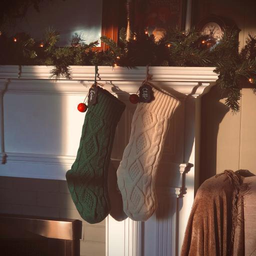 袜子 圣诞 壁橱 装饰 铃铛